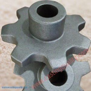 Casted Sprocket-precision investment casting