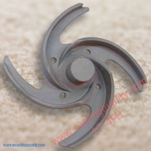 SCREW IMPELLER-17-4PH STAINLESS STEEL CASTINGS