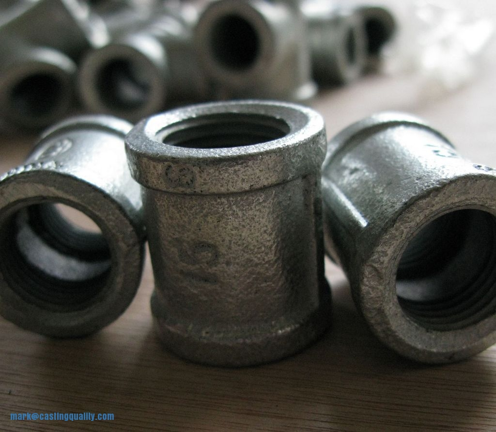 Malleable iron casting sand investment