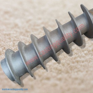 Conveyor Screw Component Casting